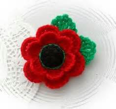 knitting pattern for a poppy flower sew knit crochet on stitches crochet hearts
