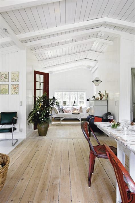 painting woodwork white a swedish home at