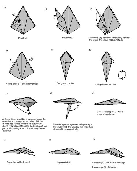 simple origami spider 折纸蜘蛛 蜘蛛 手工 折纸 教程 景苑手工 e景苑 精彩手工diy esgdiy net