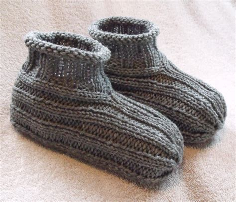 knit slippers pattern kweenbee and me how to knit a pair of slippers