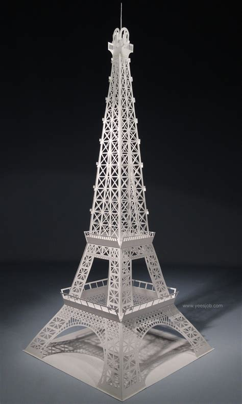 origami eiffel tower the kingdom of origami architecture eiffel tower origami