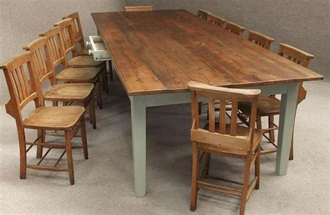 large pine kitchen table to seat up to 12