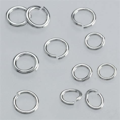 what is a jump ring in jewelry sterling silver small jump ring assortment