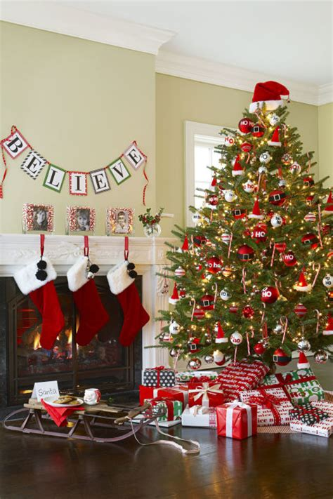 santa tree decorations most gorgeous tree decorating ideas for 2016