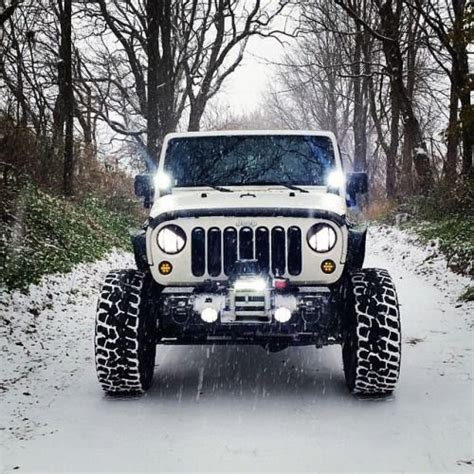 led light bar for jeeps nilight led jeep road lights with mounting brackets