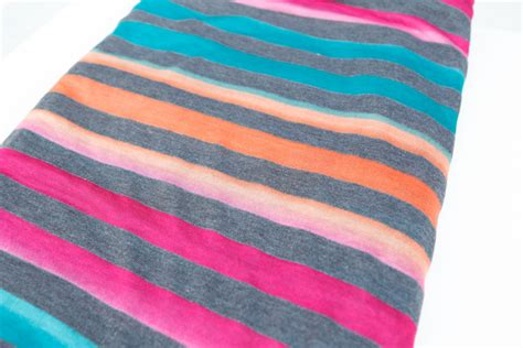 striped knit fabric ombre stripe sweater knit fabric gray pink blue multi colored