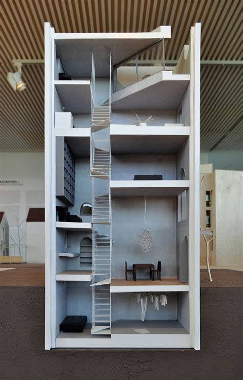 Split Level Houses file atelier bow wow sectional model of house tower