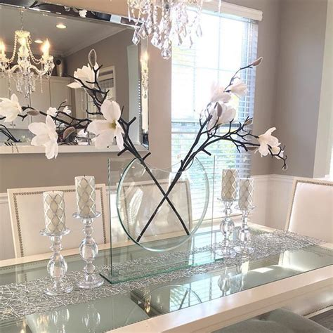dining room decorations best 25 glass dining table ideas on glass