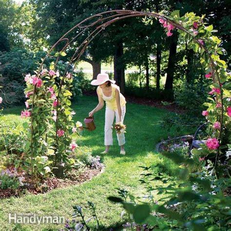 Garden Arbor Archway Woodworking Plans How To Build A Garden Trellis Archway