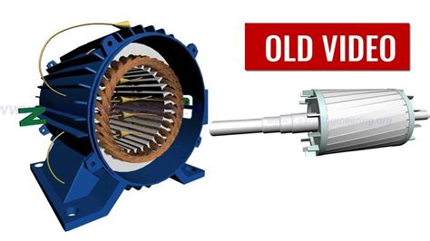 Working Of Electric Motor by How Does An Induction Motor Work