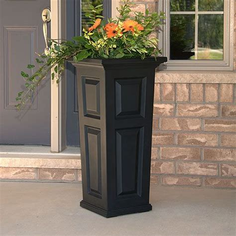 black planters mayne nantucket black planter planters