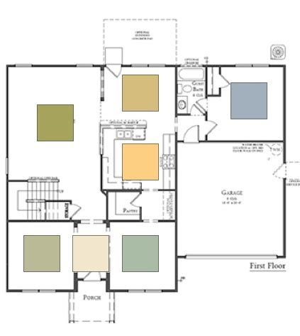 Paint Color For An Open Floor Plan Decorating By Donna