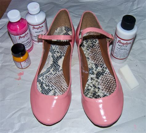 can you use acrylic paint on canvas shoes warpaint and unicorns angelus leather paint acrylic