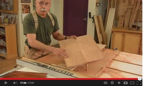 mario rodriguez woodworking scoop a chair seat on the table saw with mario rodriguez