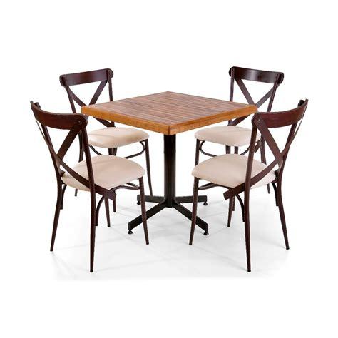 sillas y mesas para cafeterias mesa de madera con sillas para restaurante bar cafeter 237 a