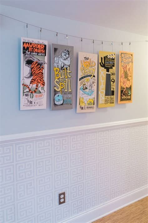 how to hang frames hang your favorites with these 22 diy poster frames