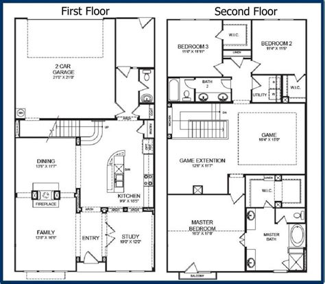 2 story house floor plans apartments 2 story cabin floor plans story house plans