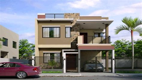 2 storey house plans 2 storey house design with roof deck in philippines