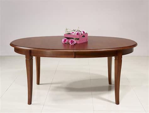 table ovale de salle 224 manger estelle en merisier massif de style louis philippe 5 allonges de