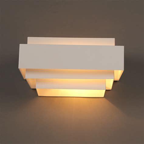 bedroom wall lighting fixtures aliexpress buy modern white box wall ls bedroom