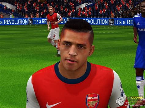 fifa 14 all hairstyles alexis sanchez new hairstyle fifa 14