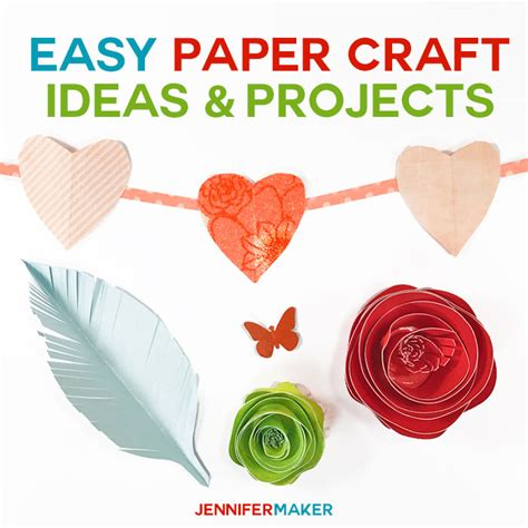 simple paper craft ideas for adults collection easy paper craft projects pictures how to make