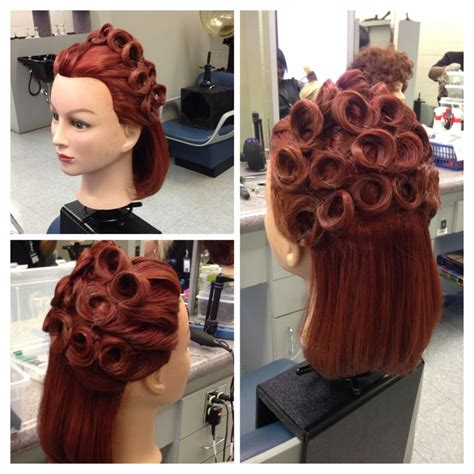 hairstyles to do on manikin up do pin curls mannequin styles pinterest curls and