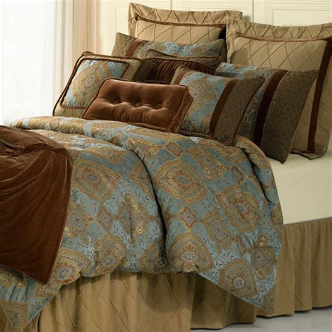 high bed sets 4 luxury comforter set hiend accents luxury