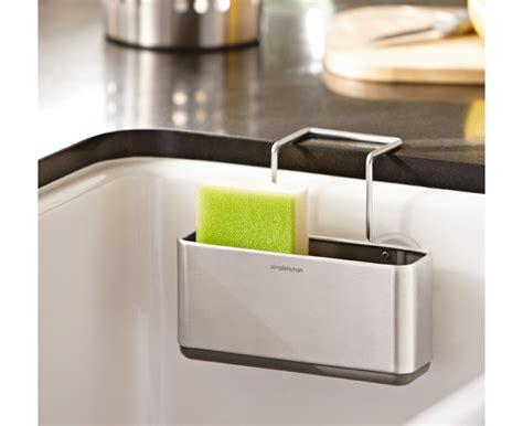 kitchen sink caddies simplehuman slim sink caddy brushed stainless steel