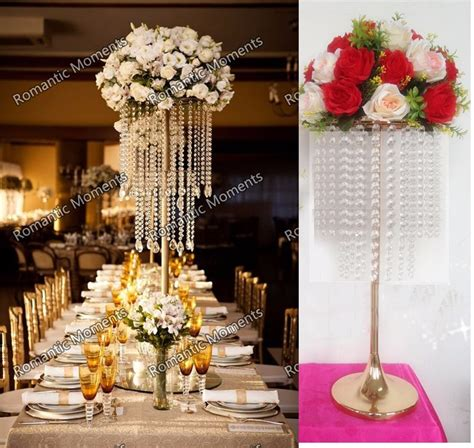 gold table centerpieces aliexpress buy 62cm 24 4 quot h wedding table