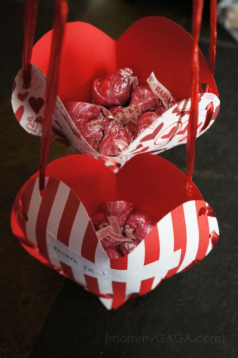 diy valentines crafts for s day treat pockets a valentines