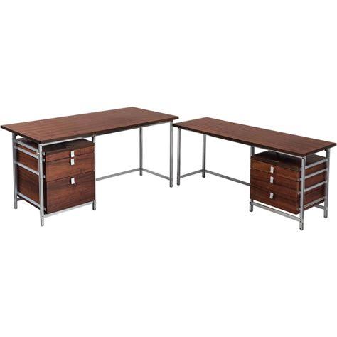 large corner desk jules wabbes large executive corner desk for sale at 1stdibs