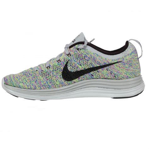 fly knit shoes nike flyknit lunar 1 s running shoe grey