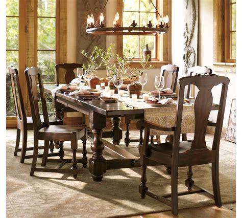 dining room table pottery barn pottery barn cortona dining room table illinois