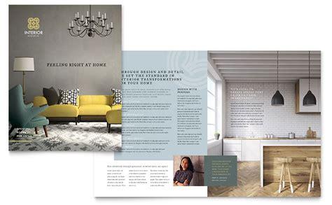 interior designer openings interior design brochure template design