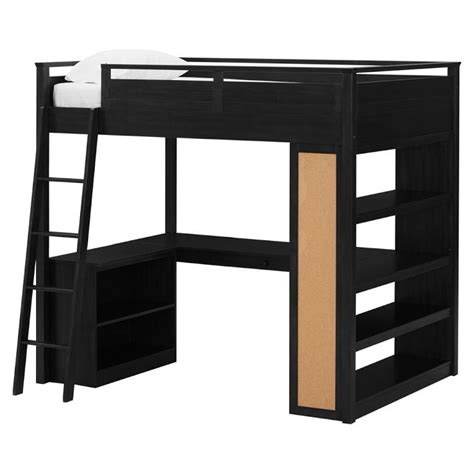 pottery barn loft bed with desk 699 00 costco s pottery barn look alike loft bed in