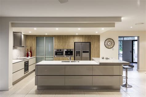 kitchen designe kitchen renovation brisbane with caesarstone benchtops and