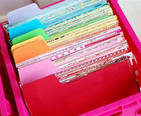scrap paper craft ideas 17 best ideas about scrap paper storage on