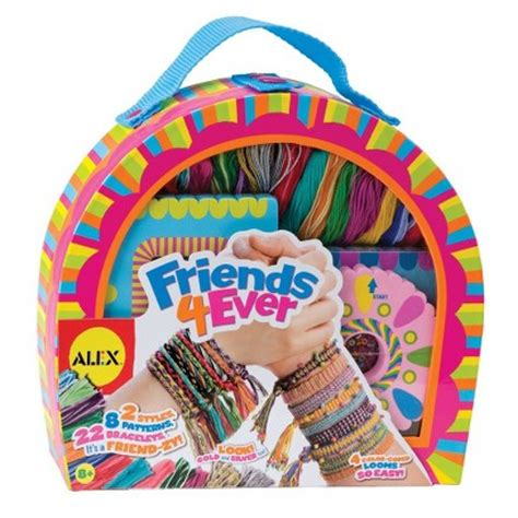 jewelry kit for 10 year alex friends 4 bracelet kit target