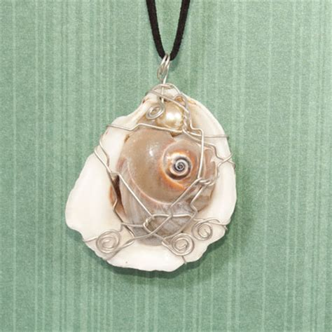 how to make jewelry with shells seashell pendants jewelry journal