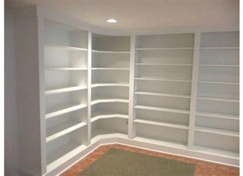 built in corner bookshelves american hwy