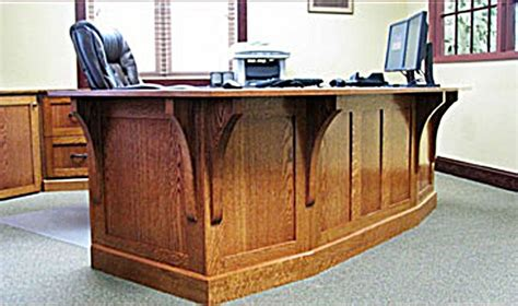 mission style home office furniture made mission style white oak office furniture by the