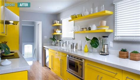 yellow and gray kitchen color combo yellow gray