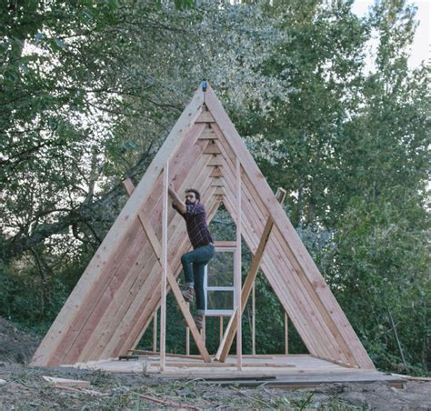 Build A Frame House uo journal how to build an a frame cabin urban