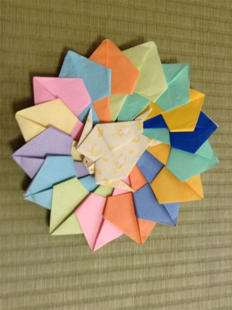 origami wheel 17 best images about origami on tree