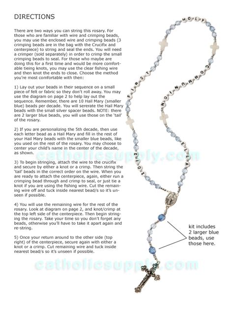 how to make rosary how to make a rosary driverlayer search engine
