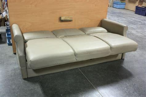 used rv sleeper sofa rv furniture used rv flexsteel vinyl knife