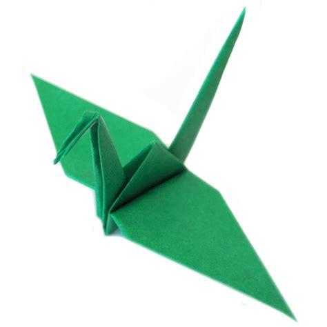 paper crane origami paper origami crane green graceincrease custom origami