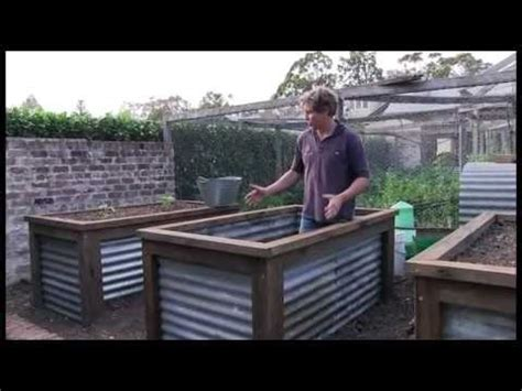 Build A Raised Planter Box by Chris Francis Presents A Method Of Constructing A Group Of