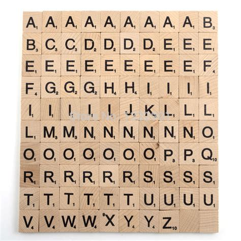 numbers on scrabble tiles 100 wooden scrabble tiles letters black numbers alphabet